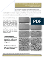 Concrete Surface Profiles