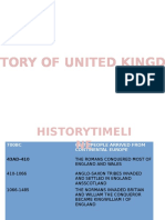 The History of United Kingdom