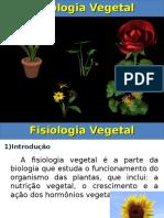 Aula Fisiologia Vegetal