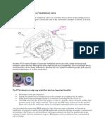 Positive Crankcase Ventilation Valve _PCV