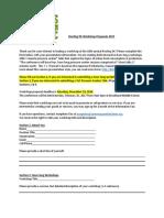Rooting DC Workshop Proposals Form 2017