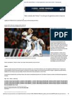 Pratto Diz Que Brasileiros _têm Medo de Messi_ e Crê Que Argentina Tem Chance Contra o Brasil - Superesportes