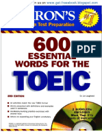 600 Essential Words for the TOEIC by [ Www.get Freeebook.blogspot.com ]