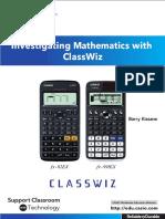 Investigating Mathematics With ClassWiz