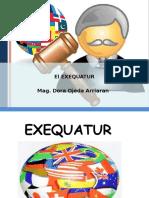 8. El Exequatur