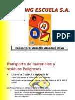 Present Ac i on Material Es Peligrosos