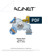 MAGNET v1.1 - Release Notes 11 May 2012