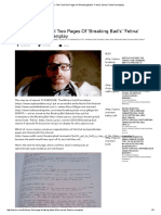Here Are the Final Two Pages of 'Breaking Bad's' 'Felina' Series Finale Screenplay
