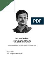 Arunachalam-Muruganantham