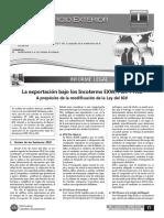 La Exportación Bajo Los Incoterms EXW,FCA y FAS (Modificaciones en La LIGV)