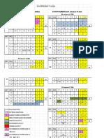 Kalendar Rada 2016 / 2017