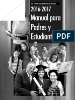 Manual Para Padres y Estudiantes 2016-17
