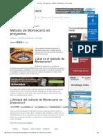 Qué es y cómo aplicar el método de Montecarlo en Proyectos.pdf