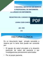 Clase. Registros de Enfermeria 2014