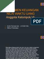Presentation Time Value of Money