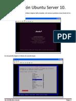 Instalación Ubuntu Server 10