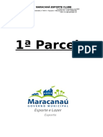 Capa Despesas Do Maracanã Futsal 1ª Parcela