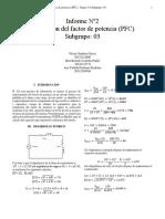 Corrección del factor de potencia (PFC)