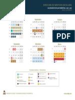 Calendario Semestral Superior Uabjo 2016-2017