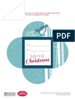 Christmas Petal Cards 2
