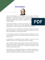 Biografía de Simón Rodríguez