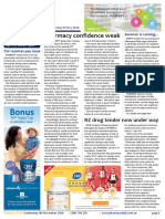 Pharmacy Daily for Wed 09 Nov 2016 - UTS Pharmacy Barometer, TGA out to tender, CWH pay drama, CMA corrects Harvey, New GAMPERSANDM range, new products and much more