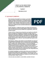 08-A Educação Segundo a Filosofia Perene