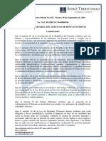 RO# 852 - S - Normas Para Diferenciación Contable de Rentas Provenientes de Actividades Dentro de La ZEDE y Fuera de Este Por Operadores de ZEDES (30 Sept. 2016)
