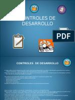 Controles de Desarrollo