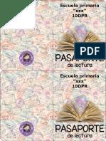 Pasaporte de Lectura Editable