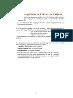 24 Grandes Periodes Histoire Algerie Bouchet