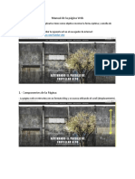 Manual de La Página Web