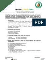 Bases Del Concurso EnergySmart 2016