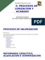 Tema 5 Procesos de Valorizacion y Acabado