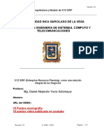 Esquema de Presentacion ERP
