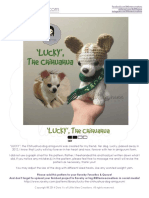 Chihuahua Dog Amigurumi Crochet Pattern v3 LittleMeeCreations