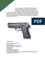 Pistola Beretta Px4 Ender