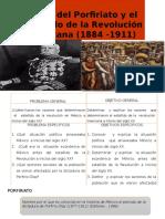Crisis Del Porfiriato y El Estallido de La