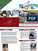 Revista Responsabilidad Social  VII del Servicio social Universitario, Ingeniería Civil - Ayacucho.