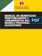 Manual Beneficios Penitenciarios PERU