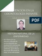 Prevención en La Odontología Infantil