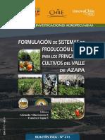FORMULACION ISTEMAS DE PRODUCCION LIMPIA EN EL VALLE DE AZAPA