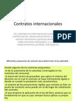 A.- Contratos Internacionales