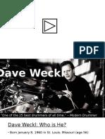 Dave We Ckl Presentation