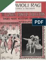 Lucanese, Frank & Lucotti, Charles - Ravioli Rag (New York, NY; Jerome H. Remick, 1914) (Jpg to PDF)