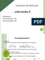 Trasnformadas Z