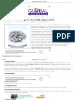 Benefits of Kaun Potash (Akanwu)