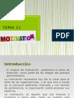 Tema 11. La Motivación