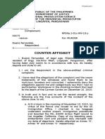 Counter Affidavit Mae Version 2