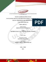 Criterios Para Evaluar Proyectos de Inversión